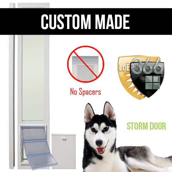 Low E Secure Dual Pane Door Vinyl Dog Doors Doggy Door Factory